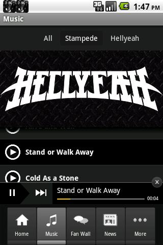 HELLYEAH Android Entertainment