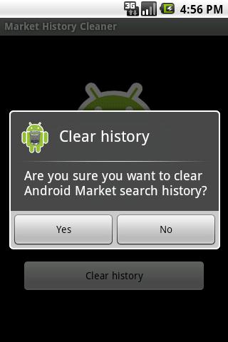Market History Cleaner Android Tools