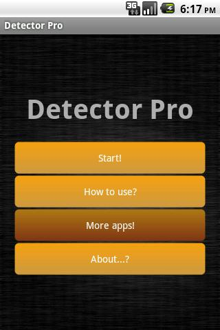 Detector Pro Android Entertainment