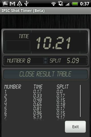 IPSC Shot Timer Android Sports