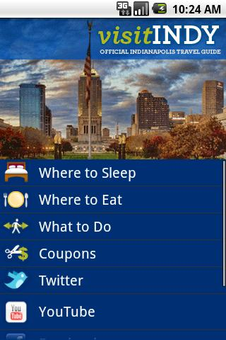Visit Indy Android Travel & Local