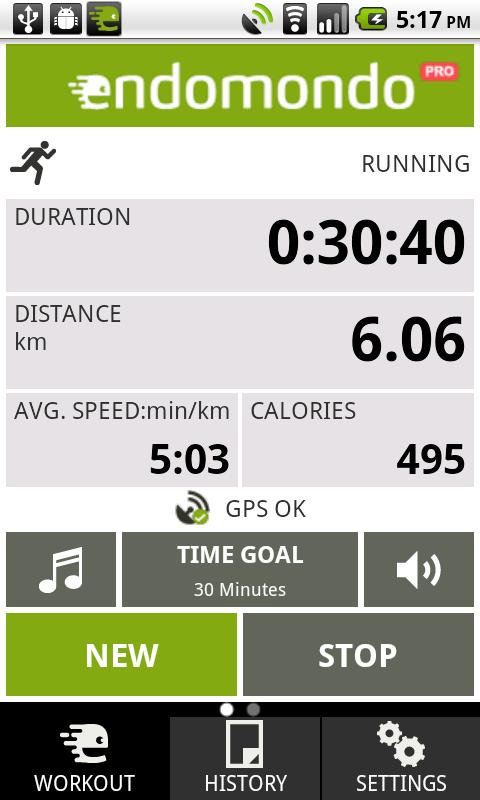 Endomondo Sports Tracker PRO Android Health & Fitness