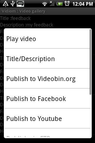 Vidiom Android Media & Video