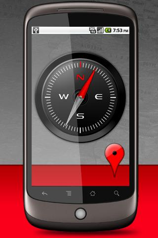 Compass Live Wallpaper Android Personalization