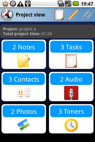 Business Time FREE tracker Android Productivity