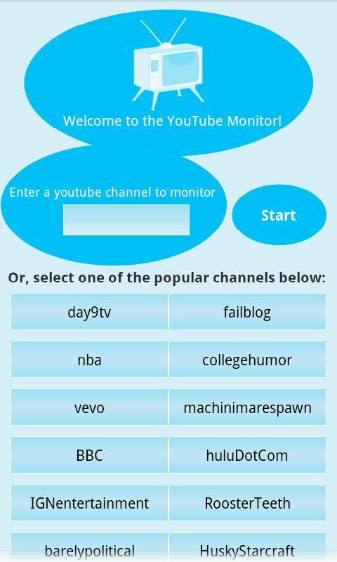 YouTube Monitor Android Media & Video