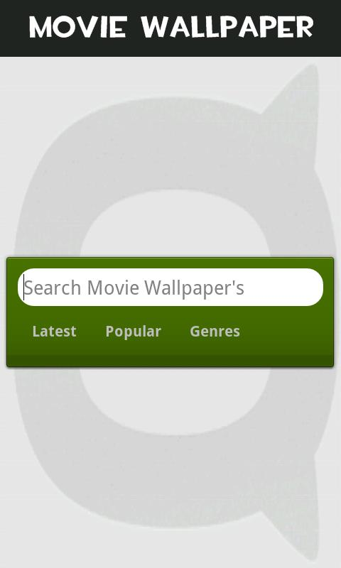 Movie Wallpaper's Android Media & Video