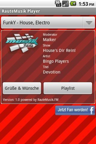 RauteMusik.FM Internet Radio Android Music & Audio