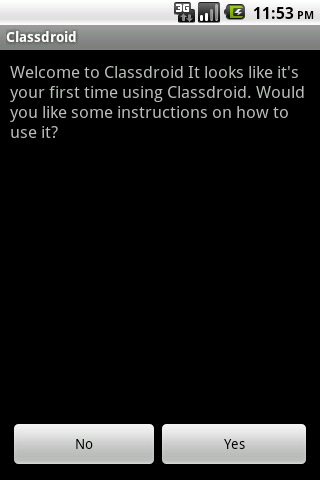 Classdroid Beta Android Productivity
