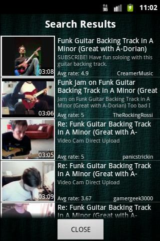 Guitar Backing Tracks Android Media & Video