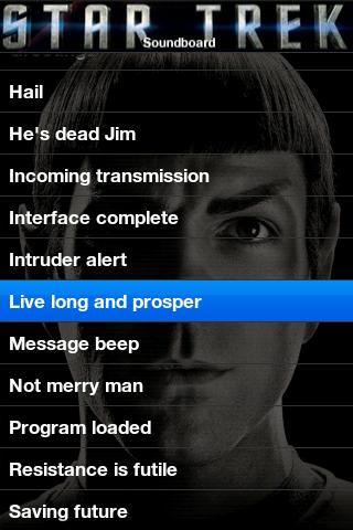 Star Trek Soundboard Android Entertainment
