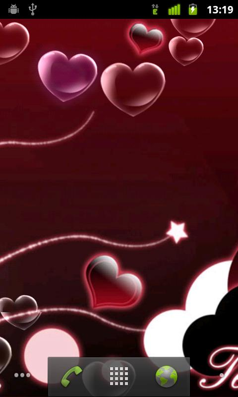 valentine heart live wallpaper android personalization