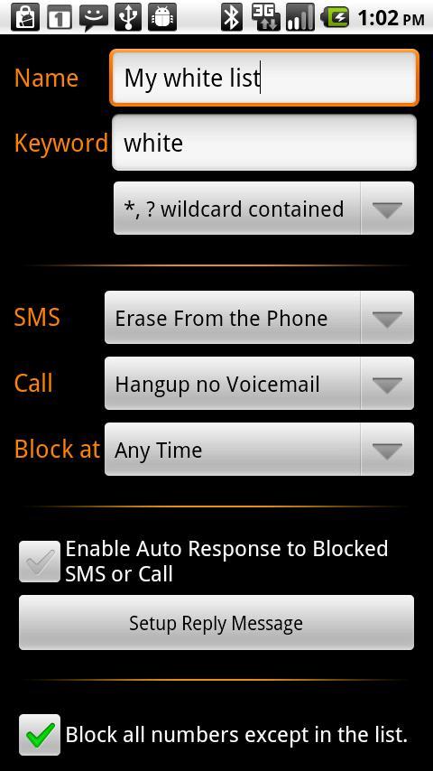 Profile Call Blocker Android Tools