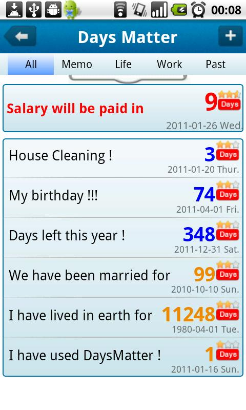 The Day Before – Days Matter Android Lifestyle