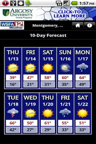 WSFAweather Android Weather