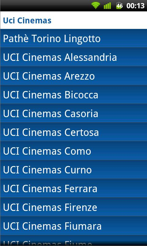 Uci Cinemas Android Entertainment