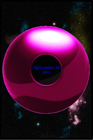 Droid Magic Eight Ball Android Entertainment