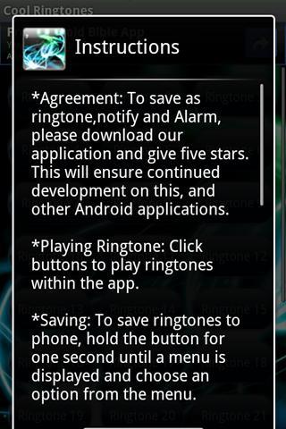 Cool Ringtones Android Music & Audio