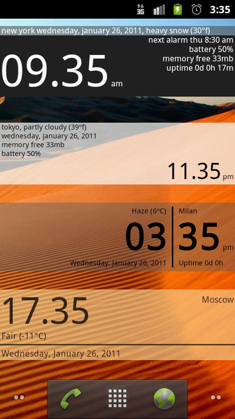 Advanced Clock Widget Pro Android Tools