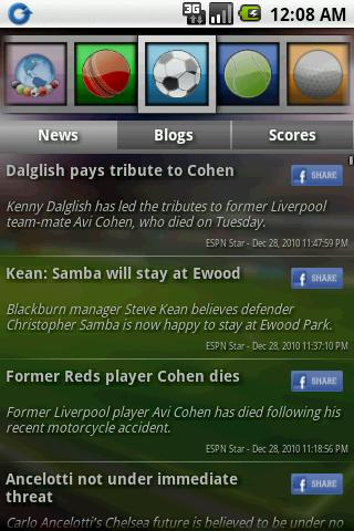 Sports Eye – Lite Android Sports