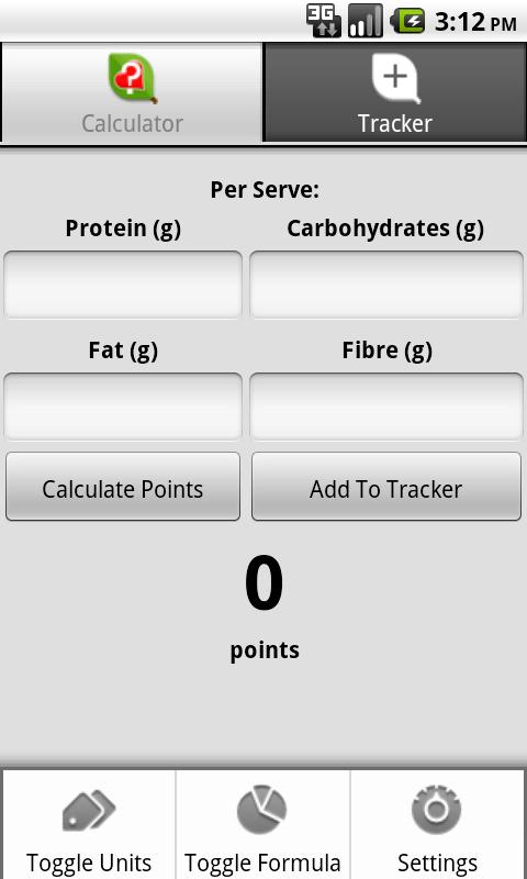 Simple Points Android Health & Fitness