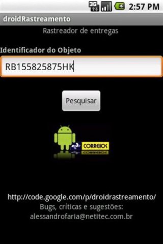 droidRastreamento tracking Android Tools
