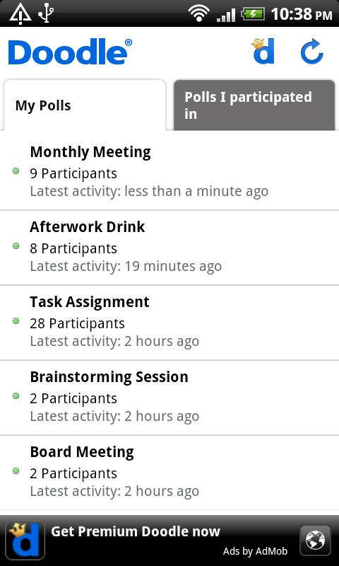 Doodle Scheduling Android Productivity
