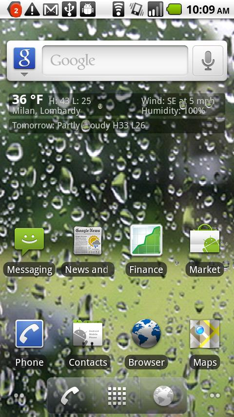 Live Weather Wallpaper Android Personalization