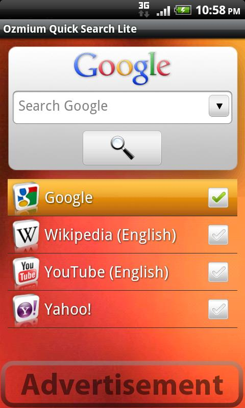 Quick Search Lite Android Tools