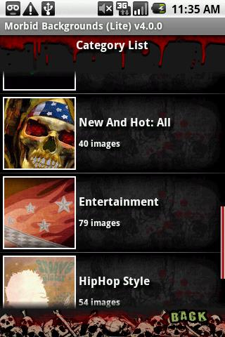 Morbid Backgrounds (Lite) Android Entertainment