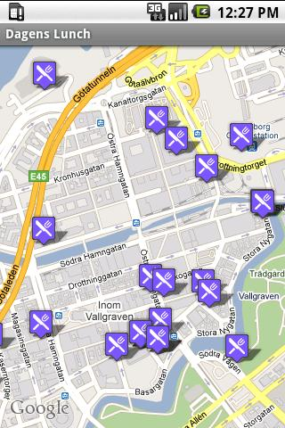 Dagens Lunch Android Travel & Local