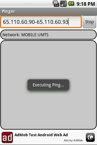 Pinger Android Tools