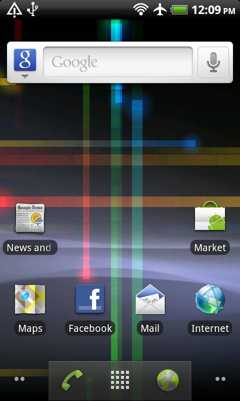 LiveWallpaper from Gingerbread Android Personalization