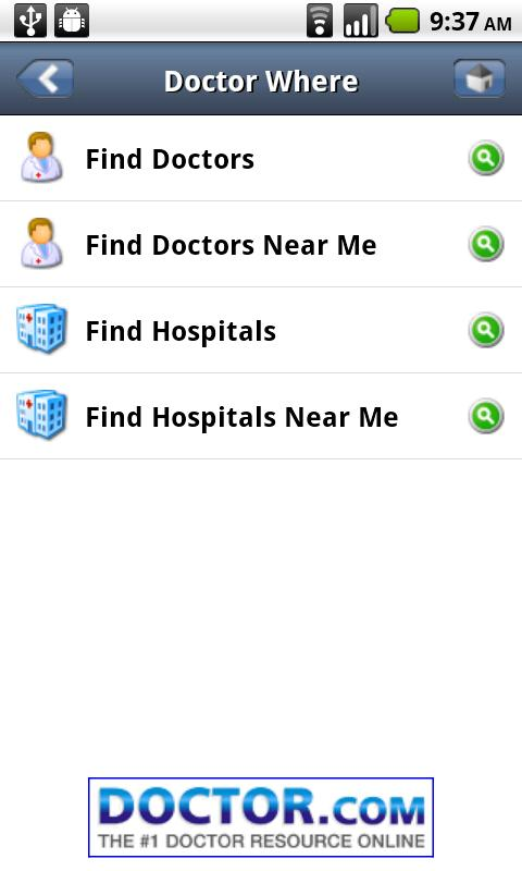 Doctor Where Android Health & Fitness