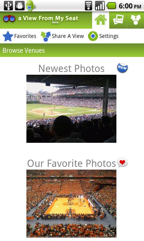 a View From My Seat Android Sports