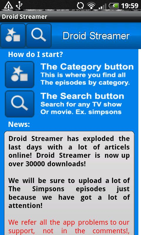 Droid Streamer Pro Android Entertainment