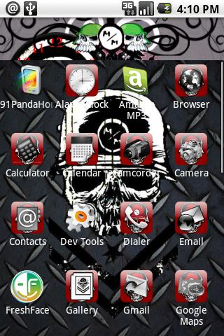 Metal Mulisha Theme Bonus Android Personalization