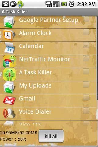 Task Killer Android Tools