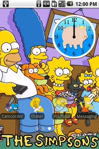 The Simpsons Android Personalization