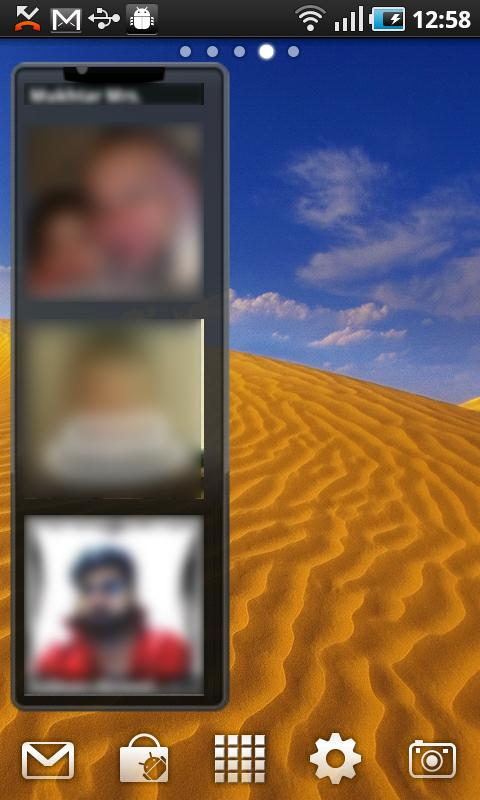 Photo Contacts Widget Android Productivity