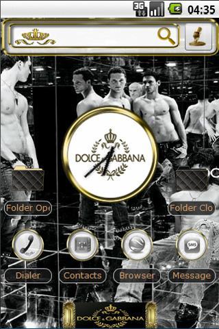 Dolce&GabbanaII Android Personalization