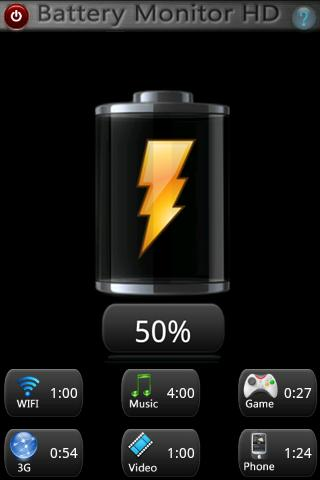 Battery Monitor HD Android Tools