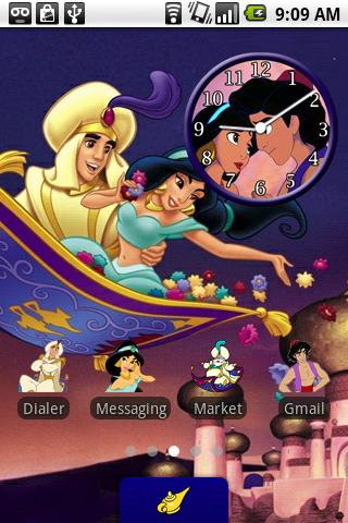 Aladdin Theme Android Personalization