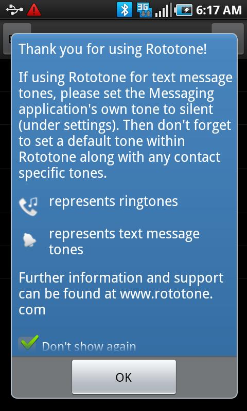 Rototone Android Entertainment