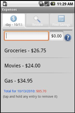Expense Pattern Tracker Android Finance