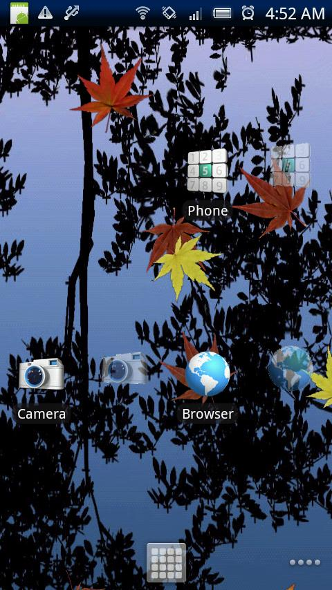 Transparent Launcher Android Personalization