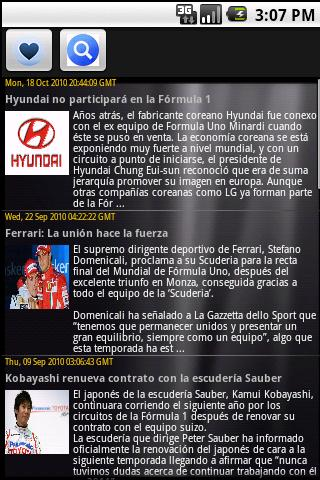 Formula 1 Top Noticias Android Sports