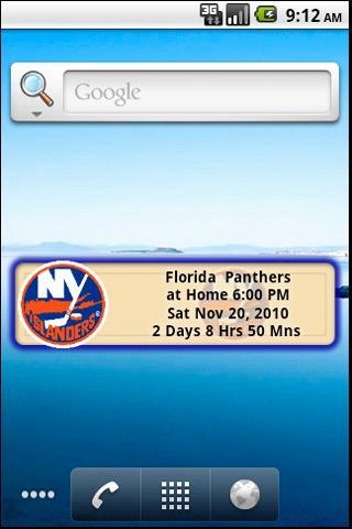 NY Islanders Countdown Android Sports