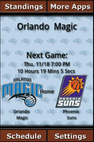 Orlando Magic Countdown Android Sports
