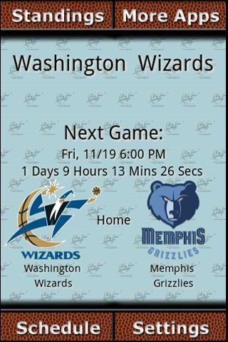 Washington Wizards Countdown Android Sports